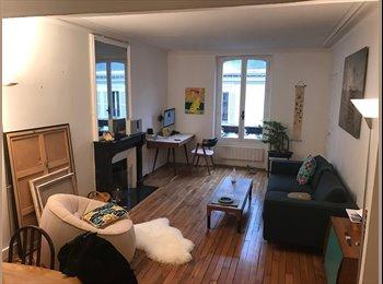 Appartager FR - Joli Appartement meublé  60m2, quartier Martyrs-Trudaine, 9ème Arrondissement - 700 € /Mois