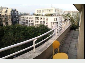 Appartager FR -  Duplex 5 pièces de 110 m², 15ème Arrondissement - 720 € /Mois