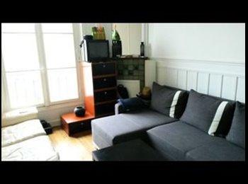 Appartager FR - Chambre calme et lumineuse 92100, Boulogne-Billancourt - 626 € /Mois