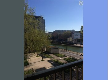 Appartager FR - Colocation / Canal Saint-Martin / 90m², 10ème Arrondissement - 750 € /Mois
