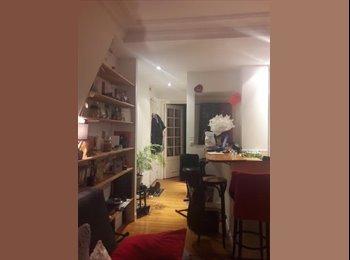 Appartager FR - Location - espace salon - de mai à juin et/ou sept/ou inderminée, 17ème Arrondissement - 525 € /Mois