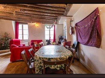 Appartager FR - Triplex en Chatelet, Paris - Ile De France - 870 € /Mois