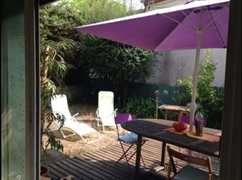 Appartager FR - studio avec jardin , Antibes - 600 € /Mois