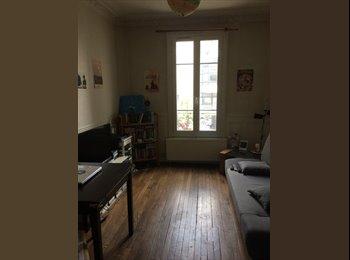 Appartager FR - Cherche coloc appart 2 chambres 1 salon 1 cuisine 1 SDB au Kemlin Bicêtre, Le Kremlin-Bicêtre - 476 € /Mois
