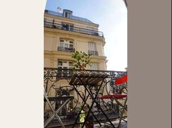 Appartager FR - Super chambre dans super coloc avec grand balcon à montmartre, 9ème Arrondissement - 810 € /Mois