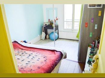 Appartager FR - Chambre de 12m² dans colocation meublée avec chat, Nanterre - 600 € /Mois