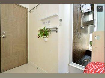 EasyRoommate HK -  bright single  ensuit room 103 , Sheung Wan - HKD11,000 pcm