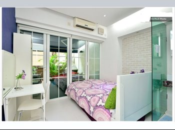 EasyRoommate HK - Double  room with Window and own Bath, Room 302, Sheung Wan - HKD15,800 pcm