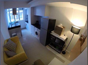 EasyRoommate HK - 12 Jun-Nice design big apartment bright and cosy big room, Tai Hang - HKD7,200 pcm