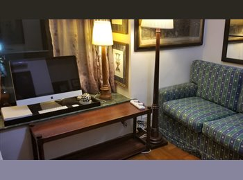 EasyRoommate HK - RENT GREAT  LOCATION TO SHARE  available september 1st, Wan Chai - HKD8,000 pcm