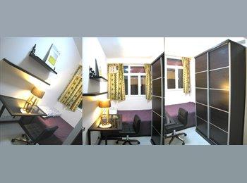 EasyRoommate HK - Spacious Room - Shared apartment in Wan Chai, Wan Chai - HKD9,700 pcm