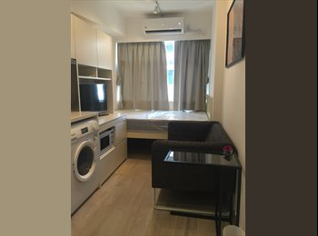 EasyRoommate HK - Nice deco, brand new services studio in downtown wanchai for rent, direct from owner, Wan Chai - HKD12,000 pcm