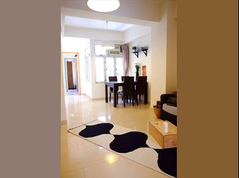 EasyRoommate HK - Fully furnished double bedroom in Sheung Wan available from Jul 1st, Sheung Wan - HKD11,150 pcm