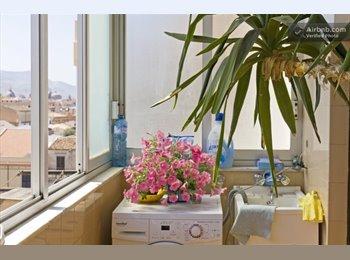 EasyStanza IT - Nice flat, big bedrooms, internet, double beds, Palermo - € 200 al mese