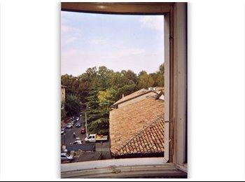 EasyStanza IT - Parco Ducale, ampia e tranquilla camera al 4° piano (possib. garage), Parma - € 330 al mese