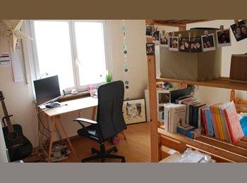 Appartager LU - Esch/Alzette centre-belle chambre meublée, Esch-sur-Alzette - 570 € / Mois