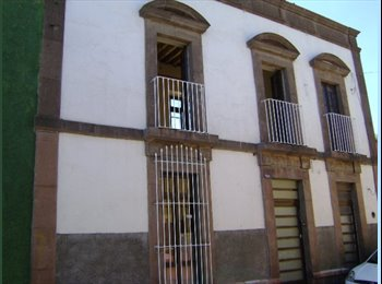 CompartoDepa MX - MAGNIFICOS CUARTOS EN EL CENTRO DE SLP INTERNET WiFi, COCINA, EXCELENTE UBICACION, San Luis Potosí - MX$1,500 por mes