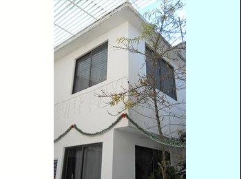 CompartoDepa MX - Habitaciones amuebladas y servicios basicos incluidos desde $1000 mensuales, Tlalpan - MX$1,000 por mes