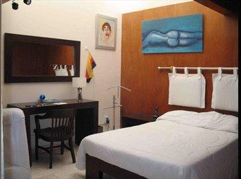 CompartoDepa MX - Rento habitaciones:  Centro,  Dorada, Mirador y Cholula, Puebla - MX$4,000 por mes