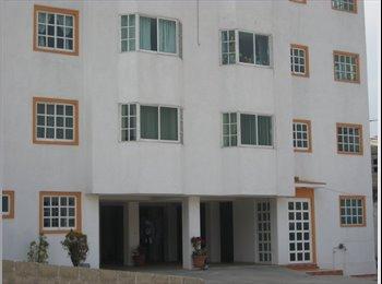 CompartoDepa MX - rento 3  habitaciones amuebladas, Cuajimalpa de Morelos - MX$4,500 por mes