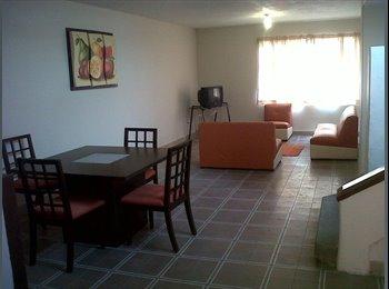 CompartoDepa MX - RENTA DE CUARTOS AMUEBLADOS, San Luis Potosí - MX$2,400 por mes