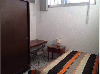 CompartoDepa MX - habitaciones por zona coapa, Coyoacán - MX$3,500 por mes