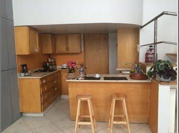 CompartoDepa MX - HABITACION en casa compartida a 5 mins CC SANTA FE, Cuajimalpa de Morelos - MX$6,500 por mes