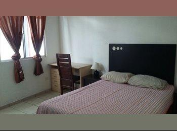CompartoDepa MX - Habitaciones disponibles con baño propio/privado, Guadalajara - MX$3,200 por mes