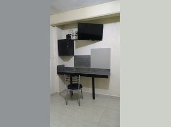 CompartoDepa MX - Habitación doble Amueblada con todos los servicios incluidos, Coatzacoalcos - MX$4,500 por mes