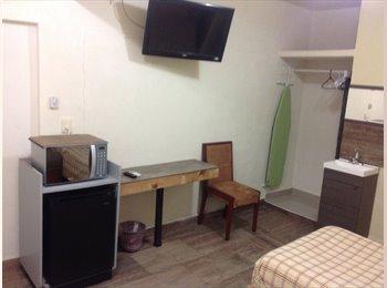 CompartoDepa MX - Habitacion amueblada con todos los servicios, Coatzacoalcos - MX$4,500 por mes