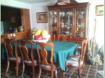 CompartoDepa MX - Hermosa y práctica recámara, incluye absolutamente todos los servicos., Cuajimalpa de Morelos - MX$6,500 por mes