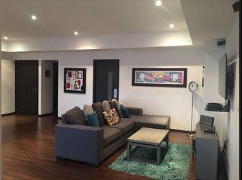 CompartoDepa MX - Renta habitación amueblada en Residencial Sendero Santa Fe, Cuajimalpa de Morelos - MX$12,000 por mes