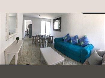 CompartoDepa MX - POR SEMANA,O POR MES , Cancún - MX$8,000 por mes