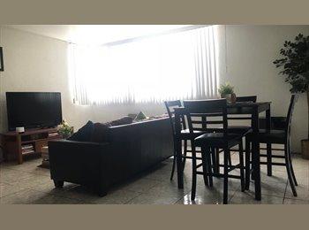 CompartoDepa MX - RECAMARA PRINCIPAL EN DEPARTAMENTO COMPARTIDO, Tijuana - MX$3,800 por mes