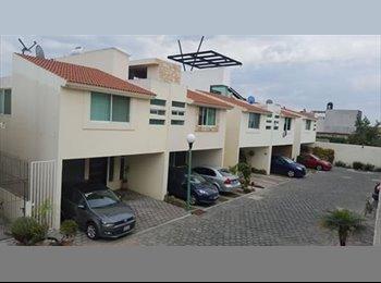 CompartoDepa MX - RENTO HABITACION EN CASA SAN ANDRES CHOLULA, San Andrés Cholula - MX$2,500 por mes