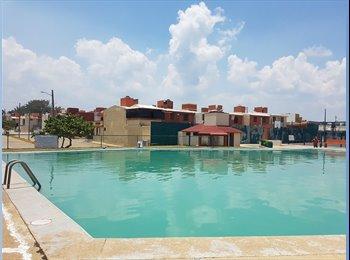 CompartoDepa MX - Casa cómoda y segura cerca de la playa, Coatzacoalcos - MX$16,500 por mes