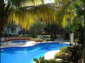 CompartoDepa MX - Súper Ubicación, Alberca, Seguridad y Comodidad, Cancún - MX$5,000 por mes