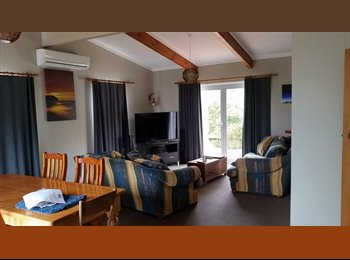 NZ - room in beach front flat, Gisborne - $150 pw