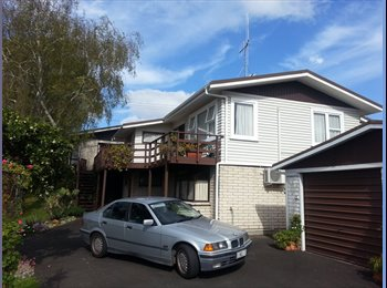 NZ - Rooms for short stays, Tauranga - $140 pw