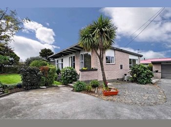 NZ - Warm, sunny house with 1 room for rent, Christchurch - $170 pw