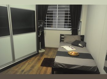 EasyRoommate SG - Exclusive single female only double room for rent, Bukit Panjang - $750 pm