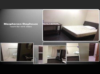 EasyRoommate SG - Macpherson Shophouse - Room for rent, Tai Seng - $900 pm