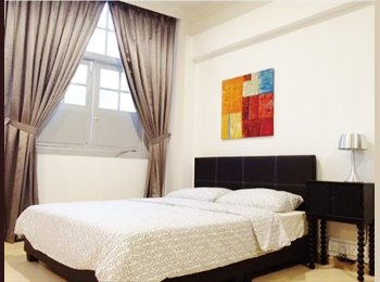 EasyRoommate SG - Full Serviced Studio $3500 near Farrer Park MRT., Serangoon - $3,500 pm