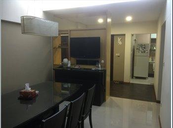 EasyRoommate SG - Common room for rent - Just 5 mins walk to Punggol mrt, Serangoon - $650 pm