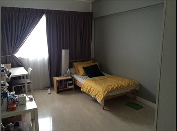 EasyRoommate SG - Common room fully furnished at Yishun 3-5min walk to mrt, Yishun - $700 pm