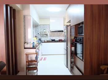 EasyRoommate SG - NEWLY RENOVATED, COSY&CLEAN ROOM TO LIVE IN FOR RENT, Woodlands - $650 pm