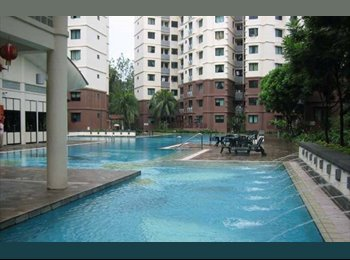 EasyRoommate SG - Small Common Room For Rent At Simei Green Condominium, Expo - $850 pm