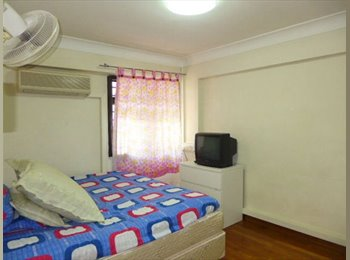 EasyRoommate SG - HDB Rental - 3I+Utility Blk 3 Dover Road 3-Room Improved, One-North - $2,500 pm