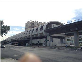 EasyRoommate SG - MRT 2 min walks -  2 Rooms for rent @ kembangan, Kembangan - $800 pm