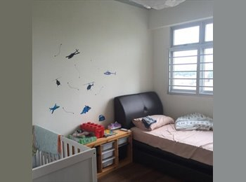 EasyRoommate SG - Cooking allowed! Near Fernvale LRT station! Common room at 453a fernvale road for rent!, Seletar - $650 pm